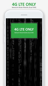 screenshot of 4G LTE Mode Only version 1.5