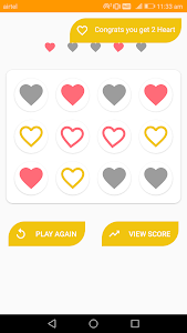screenshot of 5 Lucky Hearts – Free Love Games version 2.0