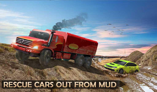 screenshot of Extreme Offroad Mud Truck Simulator 6x6 Spin Tires version 2.0