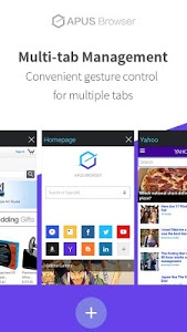 screenshot of APUS Browser-Fast,Easy,Small version 1.0.2
