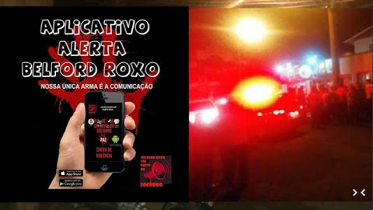 screenshot of ALERTA BELFORD ROXO version 2.0.18