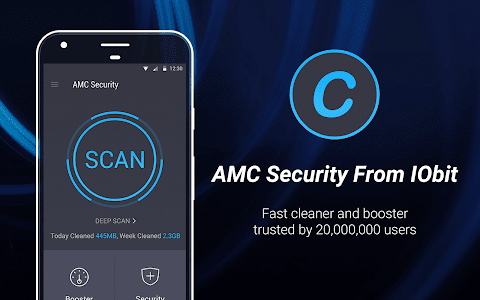 screenshot of AMC Security - Clean & Boost version 5.9.6