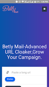 screenshot of Advanced URL Cloaker,Grow Your Campaign. version 1.1