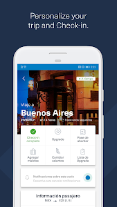 screenshot of Aeromexico version 1.8.15