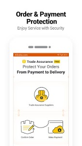 screenshot of Alibaba.com - Leading online B2B Trade Marketplace version Varies with device