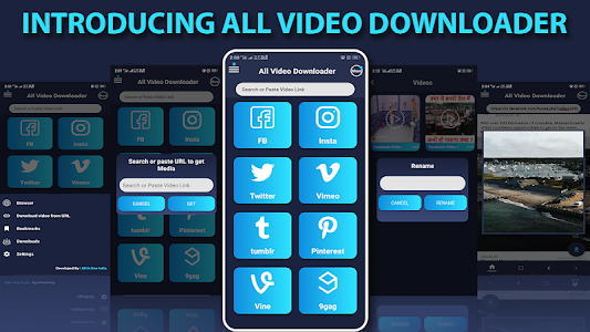 screenshot of All Video Downloader 2019 version 1.7