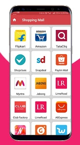 screenshot of Shopping Apps: Shop, Food, Travel, Club Factory version 3.2