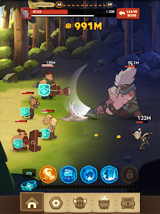 screenshot of Almost a Hero - Idle RPG Clicker version 3.2.4