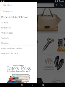 screenshot of Amazon for Tablets version Varies with device