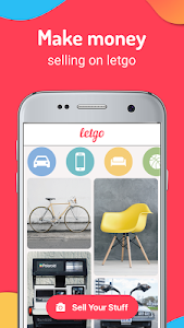 screenshot of letgo: Buy & Sell Used Stuff, Cars & Real Estate version 2.5.3