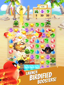 screenshot of Angry Birds Match - Free Puzzle Game version 3.1.0