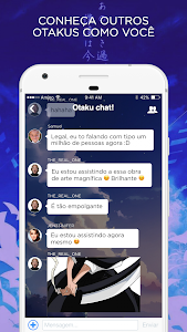 screenshot of Anime Amino em Português version 2.7.32310
