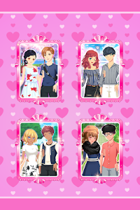 screenshot of Anime Couples Dress Up Game version 1.0.5