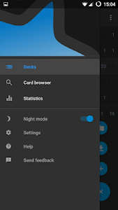 screenshot of AnkiDroid Flashcards version Varies with device