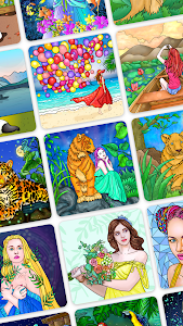 screenshot of Art Number Coloring - Color by Number version 3.8.6