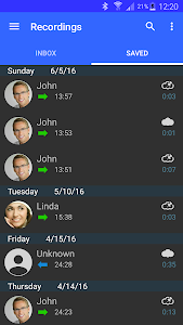 screenshot of Automatic Call Recorder version 6.08.6