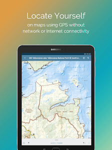 screenshot of Avenza Maps - Offline Mapping version 3.7.2