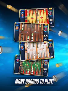 screenshot of Backgammon Legends - online with chat version 1.53