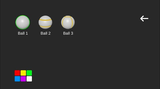 screenshot of Ball to Roll version 1.12