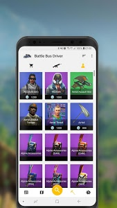 screenshot of Battle Bus Driver - Companion for Fortnite version 1.7.1