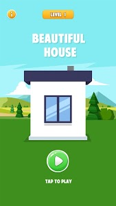 screenshot of Beautiful House: House Painting Game version 1.0.1