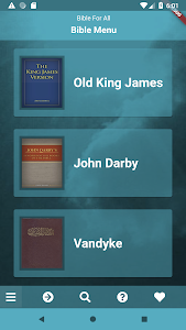 screenshot of Bible For All version 1.0.6
