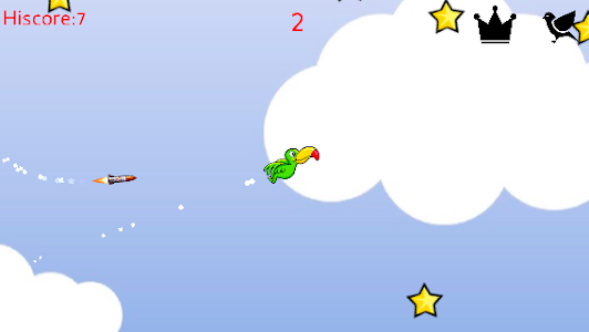 screenshot of Birds and missiles version 2.0