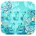 Download Blue Rose Butterfly Keyboard Theme 1.0 APK