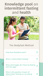 screenshot of BodyFast Intermittent Fasting: Coach, Diet Tracker version 3.2.5