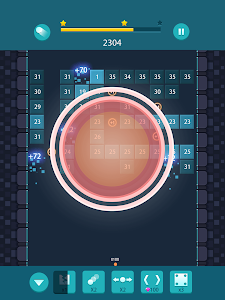 screenshot of Bricks Breaker Puzzle version 1.1.6