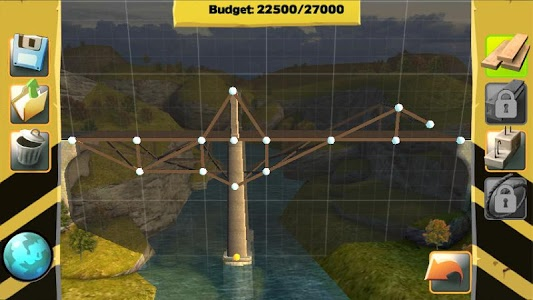 screenshot of Bridge Constructor version 2.7