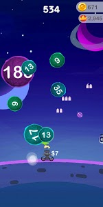 screenshot of Bubble Invaders - Bouncing Balls Shooter Challenge version 1.0