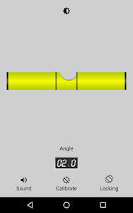 screenshot of Bubble level (Spirit Level) version 2.0.8