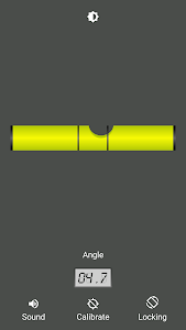 screenshot of Bubble level (No Ads) version 2.1.5