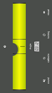 screenshot of Bubble level version 5.0.0