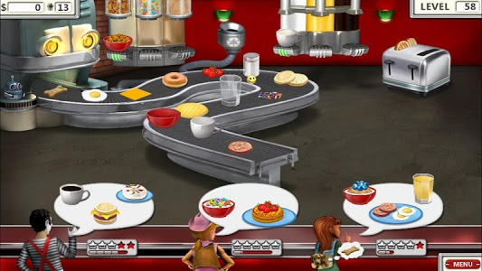 screenshot of Burger Shop 2 – Crazy Cooking Game with Robots version 1.1
