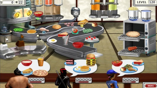screenshot of Burger Shop 2 – Crazy Cooking Game with Robots version 1.1.1