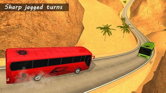 screenshot of Bus Racing 2018 version 2.7