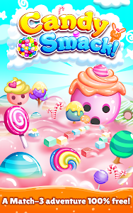 screenshot of Candy Smack - Sweet Match 3 Crush Puzzle Game version 2.7.4