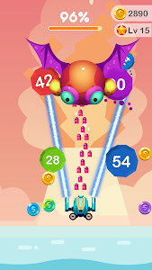 screenshot of Cannon Ball Blast: Number Shooter version 1.1.12
