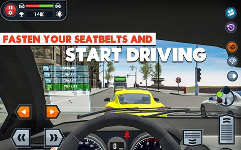 screenshot of Car Driving School Simulator version 2.13