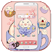 Download Pink tea cup cute steamed bun Desktop Theme 1.1.8 APK
