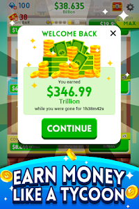 screenshot of Cash, Inc. Money Clicker Game & Business Adventure version 1.1.9.5.0