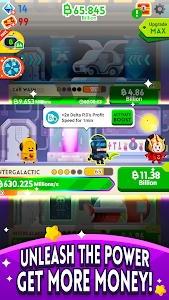screenshot of Cash, Inc. Money Clicker Game & Business Adventure version 2.1.7.4.0