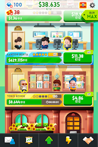 screenshot of Cash, Inc. Money Clicker Game & Business Adventure version 2.2.8.1.0