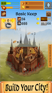 screenshot of Castle Clicker: Build a City, Idle City Builder version 4.3.5