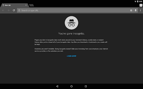 screenshot of Chrome Canary (Unstable) version 75.0.3757.0