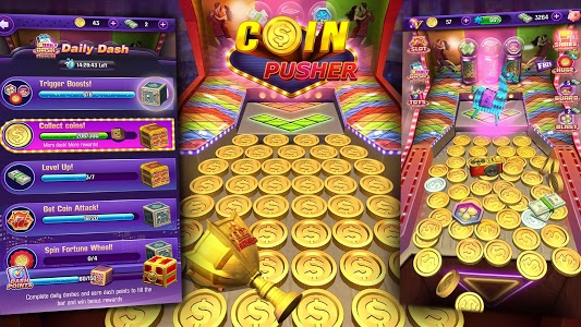 screenshot of Coin Pusher version 4.8