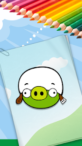 screenshot of Coloring Book For Angry Birds version 1.1