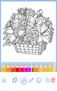 screenshot of Coloring Book for Adults version 5.2.0